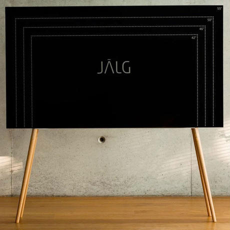 JALG HAIRPIN TV STAND / YELLOW