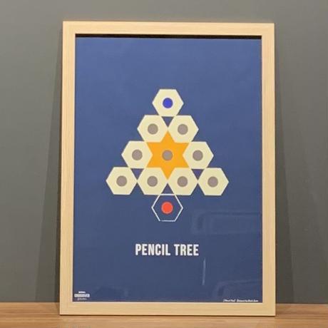 Pencil Tree -NAVY