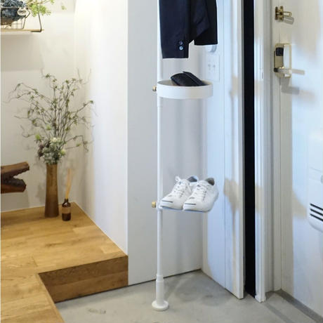 017 Shoes Rack - White