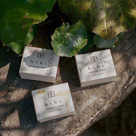 hibi お香スティック 和の香り ラージボックス 専用マット付