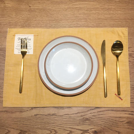 Place Mat - Chambray YELLOW