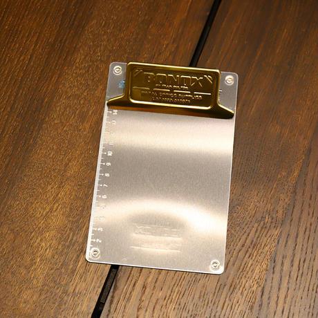 Metal clip board - A6 Brass