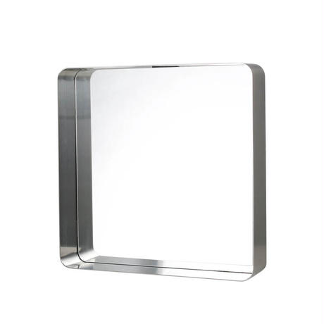 MIRROR WITH STEEL FRAME SATIN FINISH