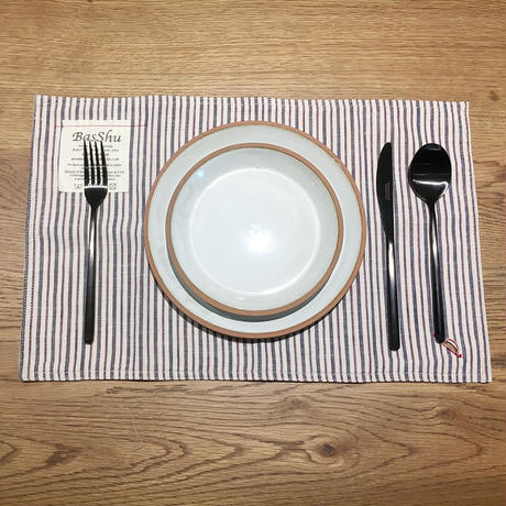 Place Mat - Trico Stripe IVORY