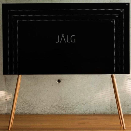 JALG TV STAND/OAK NATURAL OIL WAX
