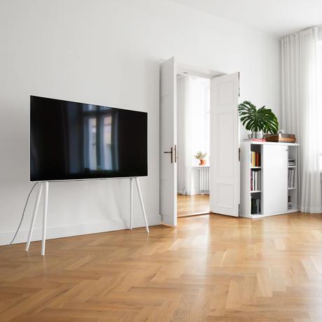 JALG TV STAND/XL COLLECTION - BIRCH WHITE