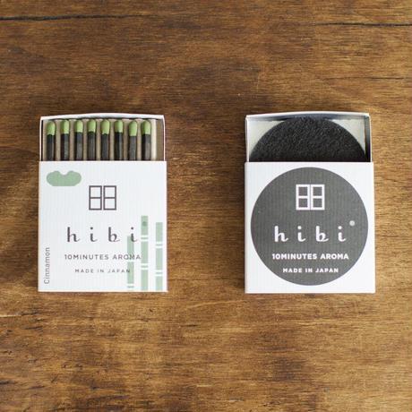 hibi お香スティック 和の香り レギュラーボックス 専用マット付