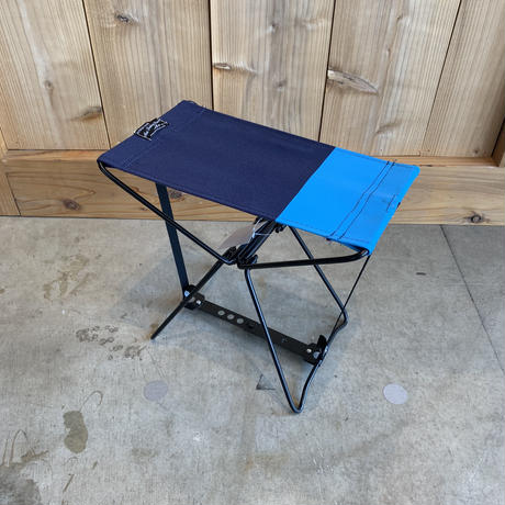 MINI FOLDING STOOL - Navy×Blue