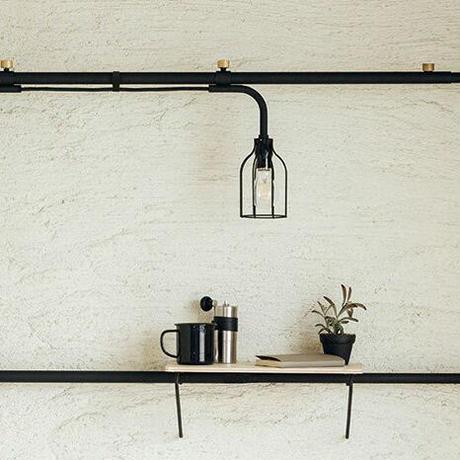 008 Lamp B - Black