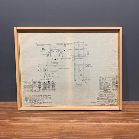 American Vintage Drawing - Crankshaft