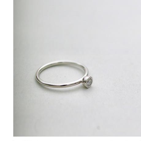 PT900 Twinkle ダイヤリング #9