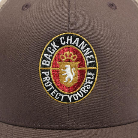Back Channel-BLUNT LABEL MESH CAP