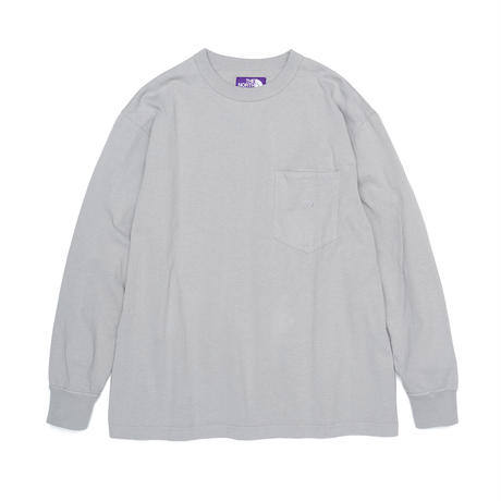 7oz L/S Pocket Tee         THE NORTH FACE PURPLE LABEL  NT3102N