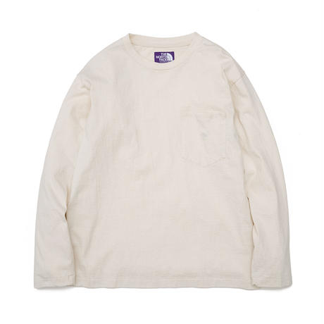 7oz L/S Pocket Tee THE NORTH FACE PURPLE LABEL-NT3058N