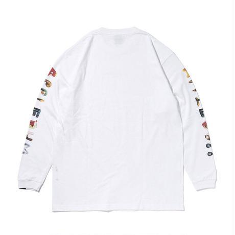 "Alphabet(mami's Font)"" L/S T-shirt"