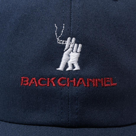 -BackChannel-SMOKING COTTON TWILL CAP