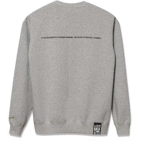 Back Channel-OFFICIAL LOGO CREW SWEAT