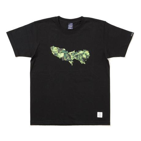 "APPLEBUM × CHOP ROLL SLOW BURN  ""TOKYO"" T-shirt [Black]"