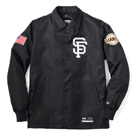 "FTC ""FTC x SAN FRANCISCO GIANTS x NEW ERA SF NYLON COACH JACKET"""