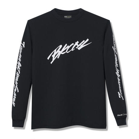 Back Channel-STRETCH LIGHT L/S T