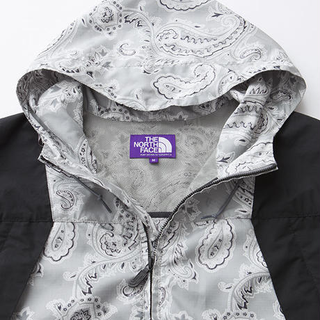 Paisley Print Mountain Wind Parka