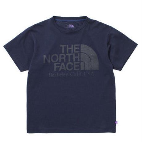"THE NORTH FACE PURPLE LABEL ""COOLMAX® Mesh Logo Tee"""