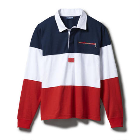 "INTERBREED ""LO SHIT SWITCING RUGBY SHIRT"""