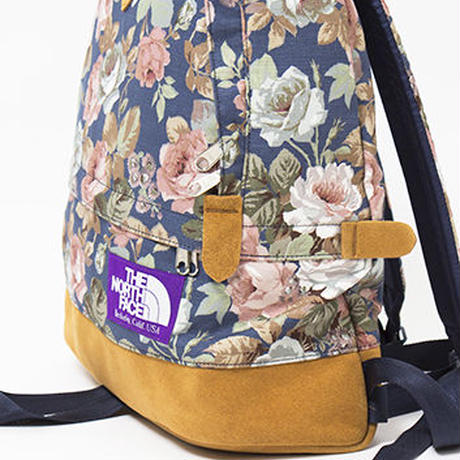 "THE NORTH FACE PURPLE LABEL ""Flower Print Medium Day Pack"""