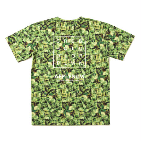 "APPLEBUM × CHOP ROLL SLOW BURN ""Pixel"" T-shirt"