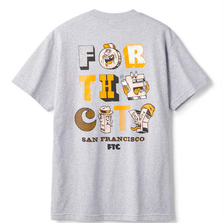 FOR THE CITY MB TEE         FTC019AUT05