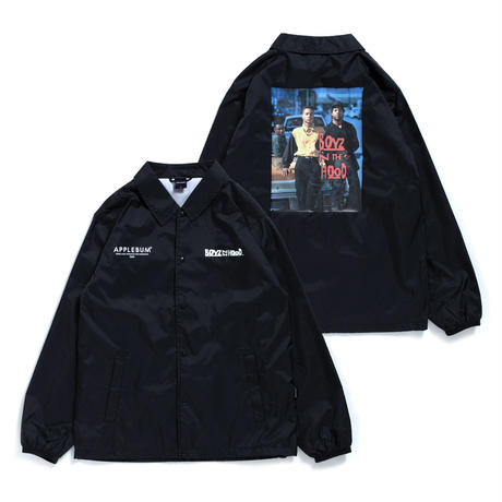 """Boyz N The Hood"" Coach Jacket [Black]"