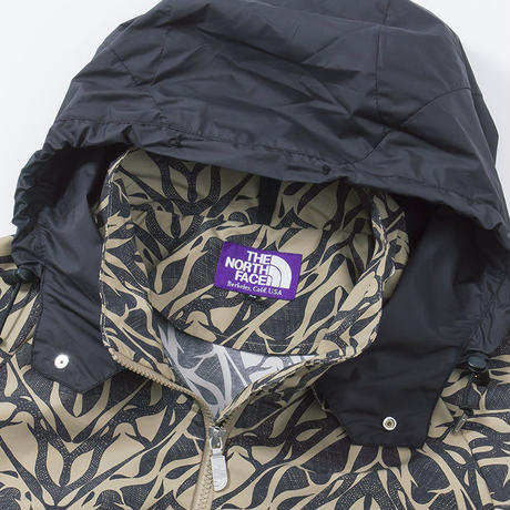 "THE NORTH FACE PURPLE LABEL ""Mountain Wind Print Parka"""
