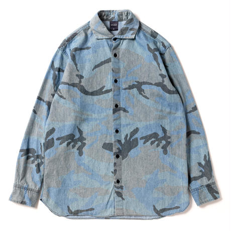 Denim Camo Shirt