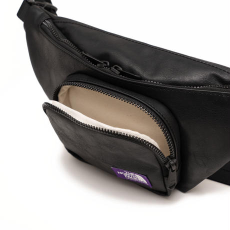 Synthetic Leather Waist Bag THE NORTH FACE PURPLE LABEL