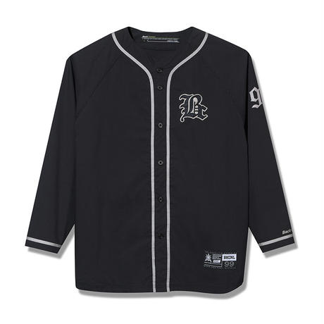 Back Channel-COOLMAX BASEBALL L/S SHIRT