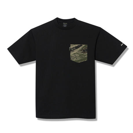 Back Channel-GHOSTLION CAMO POCKET T