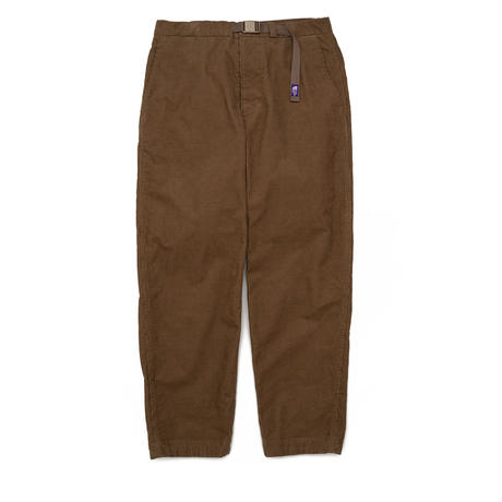 Corduroy Wide Tapered Pants THE NORTH FACE PURPLE LABEL  NT5058N