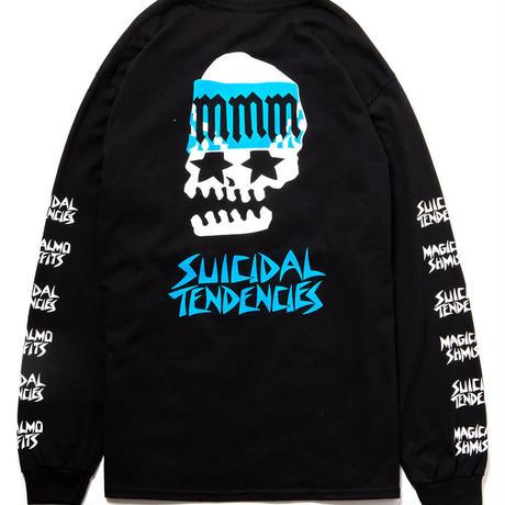 "SUICIDAL TENDENCIES x MxMxM ""MAGICAL MOSH TENDENCIES"" LONG TEE (M1574)"