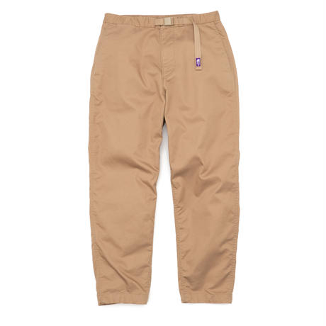 Stretch Twill Wide Tapered Pants THE NORTH FACE PURPLE LABEL  NT5052N