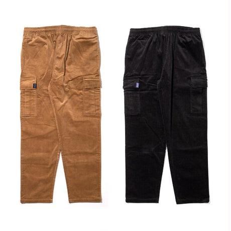 Corduroy Cargo Pants [Black]
