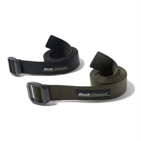 Back Channel-Back Channel × BISON DESIGNS WEBBING BELT