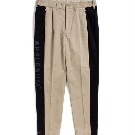 Side Panel Chino Pants [Beige]