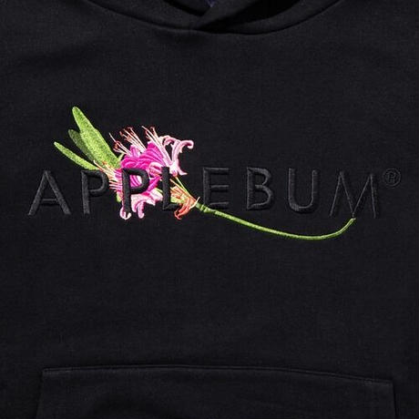 """Flower Logo"""" Sweat Parka"""