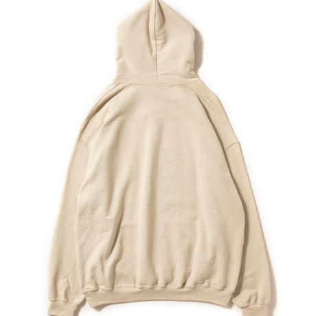 Photo Print Sweat Parka [Sand]