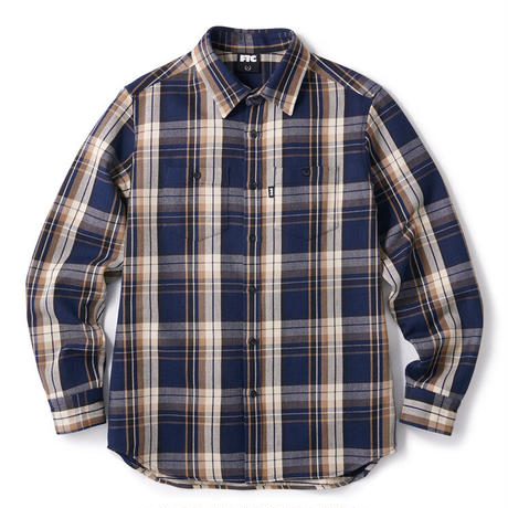 HEAVY PLAID NEL SHIRT  FTC020AWSH01