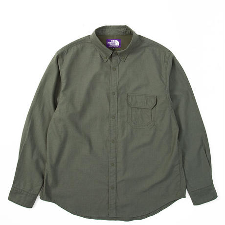 "THE NORTH FACE PURPLE LABEL ""Cotton Polyester OX B.D Shirt"""