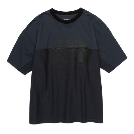 Combination H/S Logo Tee    THE NORTH FACE PURPLE LABEL NT3109N