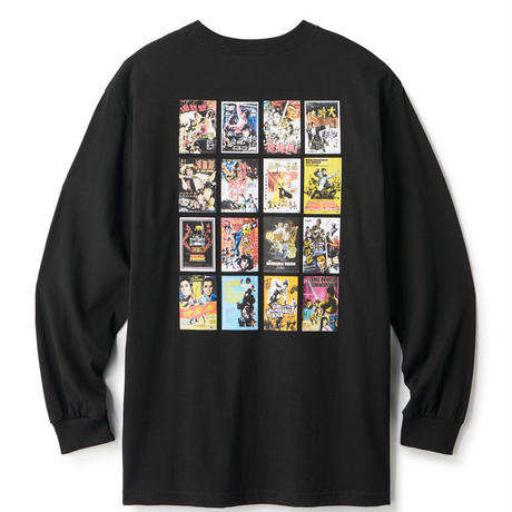 KANG FU ACTION THEATRE L/S TEE FTC020SPT08