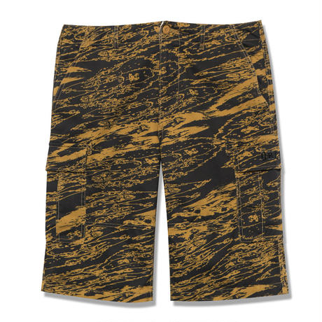 Back Channel-GHOSTLION CAMO CARGO SHORTS