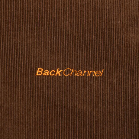 Back Channel-Back Channel×Prillmal CORDUROY JACKET
